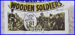 March of the Wooden Soldiers Laurel and Hardy Original One Sheet Movie Poster