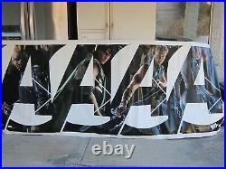 Marvel THE AVENGERS 2012 Original 4x10' Vinyl US Movie Theater Lobby Banner