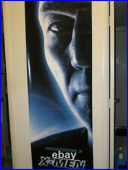 Marvel X-MEN 2000 RARE Original 2X6' FIVE Vinyl Movie Theater Lobby Banner Set