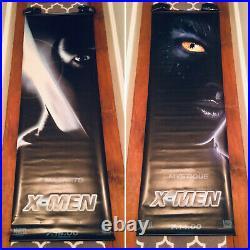 Marvel X-Men 2000 Movie Theater Banners Mystique & Magneto Rebecca Romijn 2X6 ft