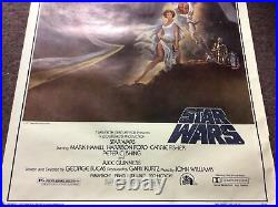 NEW Star Wars Original Movie Theater Poster 77/21, 1977, 27x41 RARE