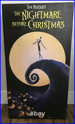 Nightmare Before Christmas Promo Standee Large Display for Home Theater/Mancave