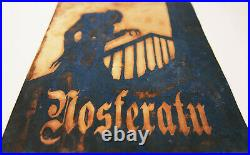 Nosferatu Movie Gift Metal Wall Art Print Poster Artwork Home Theater Decor
