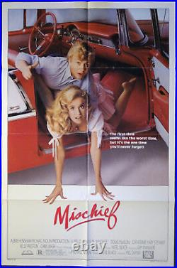 ORIGINAL 1985 Theater Poster MISCHIEF (Kelly Preston)