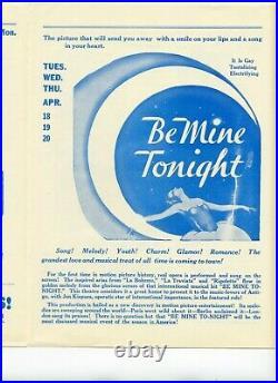 Original 1933 King Kong Movie Theatre News Very Rare No. 39 Vintage
