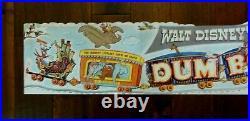 Original 1941 Walt Disney's Movie Dumbo, Theatre Lobby Display