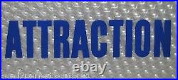 Original 1960/70s NEXT ATTRACTION Movie Theater Holographic Advertising Sign