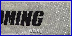 Original 1960s/70s COMING Vintage Movie Theater Holograph Advertising Sign