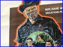 Original 1973 Westworld One Sheet Folded Poster Movie Theatre 27 x 41 73/254