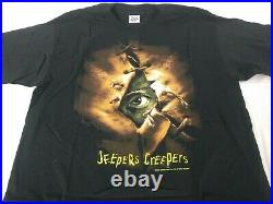Original 2001 Jeepers Creepers Movie Theater Promo T Shirt Horror Large