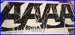 Original Avengers Theater Banner (8 Characters) 10x4 (Rare) (never used)