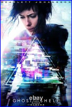 Original GHOST IN THE SHELL 48X70 Bus Shelter, Mall, Movie Theatre, Subway Poster