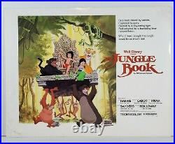 Original THE JUNGLE BOOK Lobby Cards Walt Disney 1978 Movie Theater SET 11X14