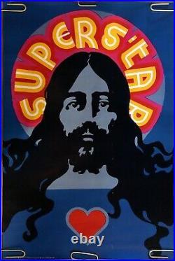 Original Vintage Poster Jesus Christ Superstar Movie Theatre Waldermar Swierzy