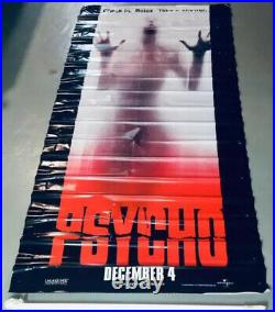 PSYCHO (1998) Huge 8ft Tall! Light Up Horror Movie Theater Standee Lobby Display