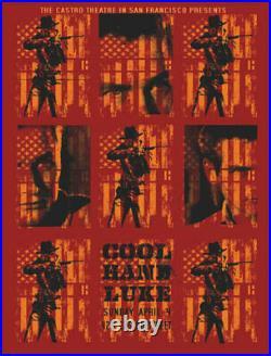 Paul Newman Cool Hand Luke Castro Theatre Silkscreen Movie Poster David O'Daniel