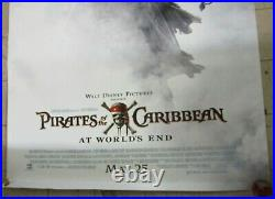 Pirates of the Caribbean At World's End 70 x 47 Vinyl Theater Banner/Poster