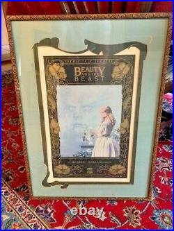Professionally Framed Faerie Tale Theatre Beauty & the Beat Thumbelina Posters