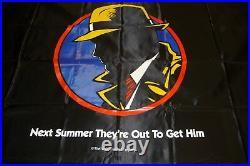 RARE Madonna Warren Beatty DICK TRACY large Movie Theater Lobby Banner DISNEY