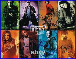 RENT Movie Cast SIGNED 11x14 Photo Chris Columbus Adam Pascal Anthony Rapp COA
