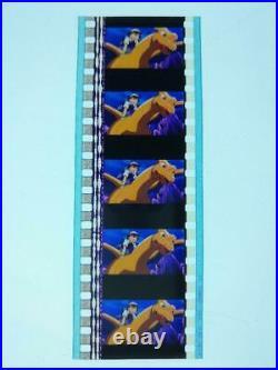 Rare Pokemon Movie Theater Version Movie Film Cell 253 Cuts Set of 5 Frames