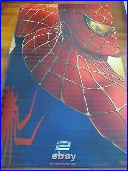 SPIDERMAN 2 95 x 60 Giant Movie Theater Vinyl Banner 2004