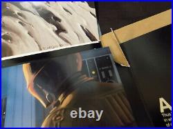 STAR WARS 1979 RALPH McQUARRIE RARE EMPIRE STRIKES BACK THEATER PRE-PRESS KIT
