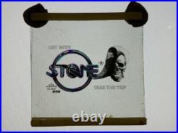 STONE Glass Cinema Slide Australian bikie movie classic theatre film 70mm 35mm