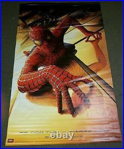 Spider-Man 5Ft x 8Ft Movie Theater Vinyl Banner Very Rare