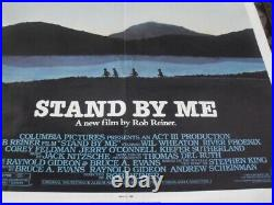 Stand By Me 27x41 Original Theater Single Sided Movie Poster