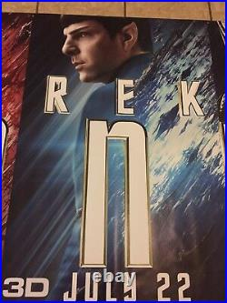 Star Trek Beyond 4.5ftx15ft Movie Theater Vinyl 1 Sided Authentic Regal Cinema