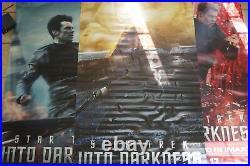 Star Trek Into The Darkness 9ftx5ft Movie Theater 3 Vinyl Set Authentic Regal