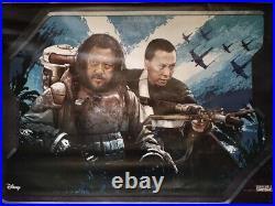 Star Wars Rogue One HUGE Movie Theater Vinyl Banner Poster 3'x4' Chirrut Imwe