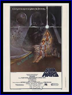 Star Wars Style A MINT/ROLLED! 30x40 Theater Lobby Display Movie Poster