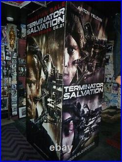 TERMINATOR SALVATION rare movie theater display box arnold schwarzenegger
