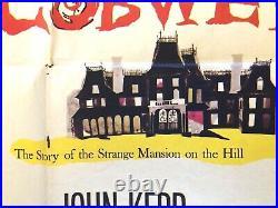 THE COBWEB Film Noir Original Movie Theatre Poster 28x41 Folded 1-sheet