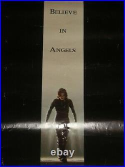 THE CROW Brandon Lee 1994 RARE ORIGINAL Movie Theater Poster 23 x 35