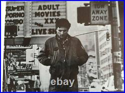 Taxi Driver 1976 Original 22 X 28 Movie Theater Poster Jodie Foster