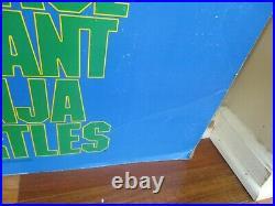 Teenage Mutant Ninja Turtles 1990 1st Movie Original Theater Standee Display