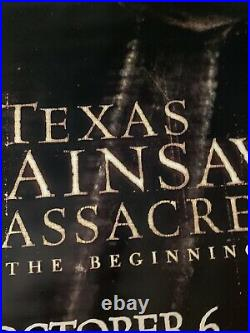 Texas Chainsaw Massacre Beginning HUGE Theater Banner Poster Vinyl Leatherface