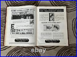 The 1947 -48 Theatre Catalog Vol 6 Vintage Film Broadway & Hollywood Rare
