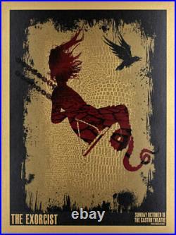 The Exorcist Silkscreen Movie Poster Castro Theatre David O'Daniel Alien Corset