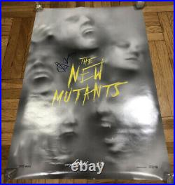 The New Mutants 27x40 Original Theater Poster Signed Autograph Anya Taylor-Joy