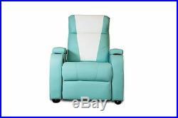 The Original Metro Retro Movie Theatre Chair Home Cinema Seating Sofa Trq Single
