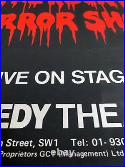 The Rocky Horror Picture Show (1979) Original Silkscreen Theatre Poster MINT