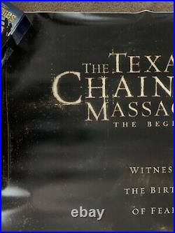 The Texas Chainsaw Massacre Beginning HUGE D/S Theater Banner Poster Leatherface