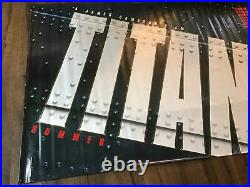 Titanic Huge 5' x 8' Movie Theater Advance Promo Vinyl Poster Banner 1997