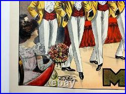 Tommy Donnelly's Minstrels (1910) 28 x 41.875 US Theater Stone Lithograph P
