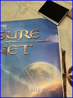 Treasure Planet Super Rare Theater Used Collector Piece P22 70x48 Mint