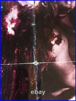 VAMPYRES 1976 ORIGINAL 1 SHEET THEATER ISSUED MOVIE POSTER 27x41 (G+) HORROR